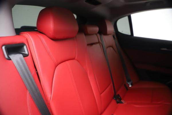 New 2020 Alfa Romeo Stelvio Sport Q4 for sale $50,195 at Maserati of Westport in Westport CT 06880 26