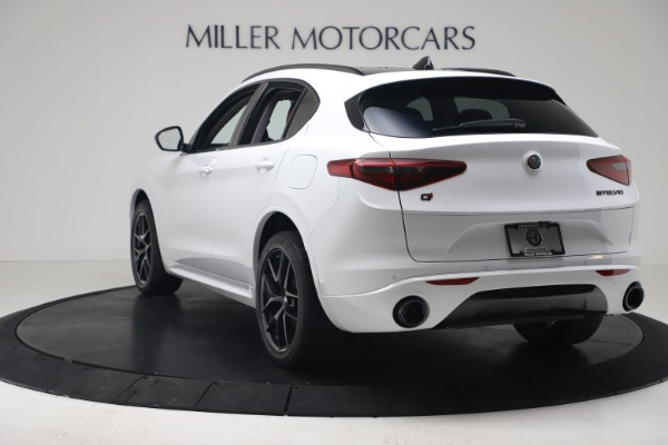 New 2020 Alfa Romeo Stelvio Sport Q4 for sale $50,195 at Maserati of Westport in Westport CT 06880 5