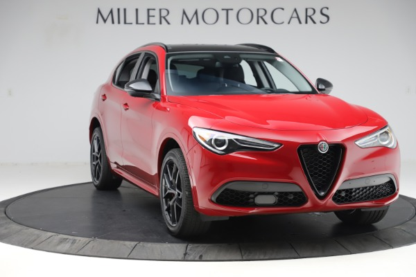 New 2020 Alfa Romeo Stelvio Sport Q4 for sale $50,495 at Maserati of Westport in Westport CT 06880 11