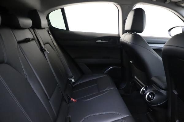 New 2020 Alfa Romeo Stelvio Sport Q4 for sale $50,495 at Maserati of Westport in Westport CT 06880 27