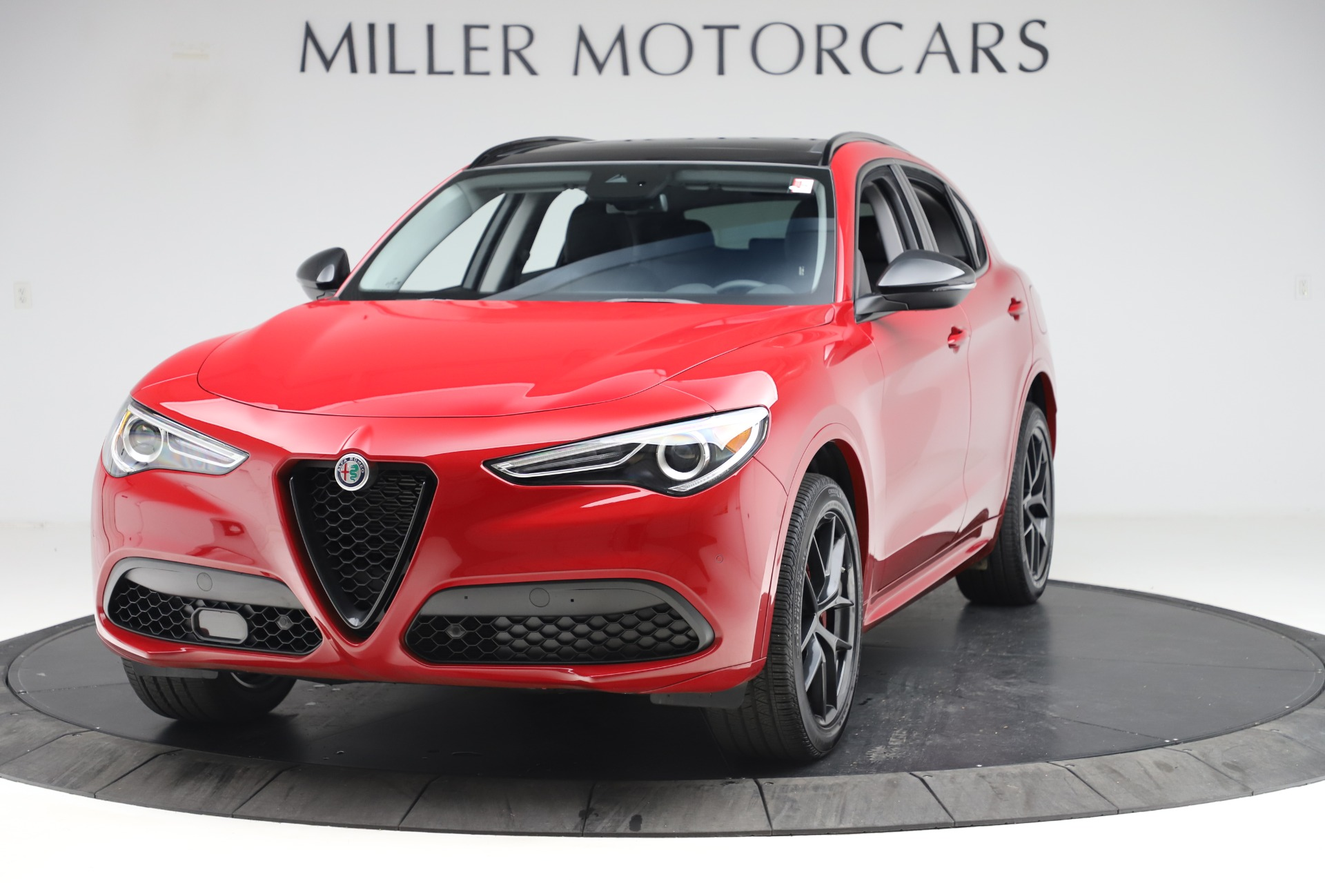 New 2020 Alfa Romeo Stelvio Sport Q4 for sale $50,495 at Maserati of Westport in Westport CT 06880 1