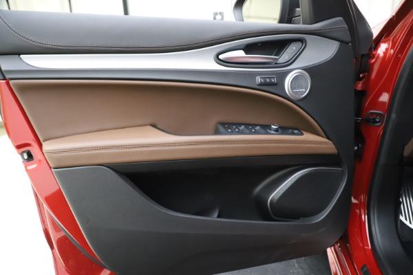 New 2020 Alfa Romeo Stelvio Ti Sport Q4 for sale Sold at Maserati of Westport in Westport CT 06880 17