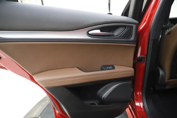 New 2020 Alfa Romeo Stelvio Ti Sport Q4 for sale Sold at Maserati of Westport in Westport CT 06880 21