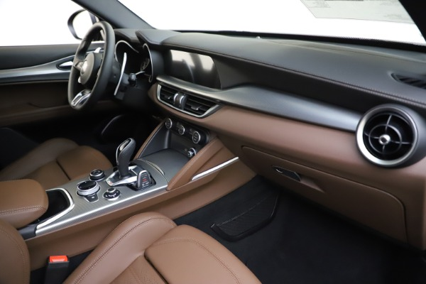 New 2020 Alfa Romeo Stelvio Ti Sport Q4 for sale Sold at Maserati of Westport in Westport CT 06880 22