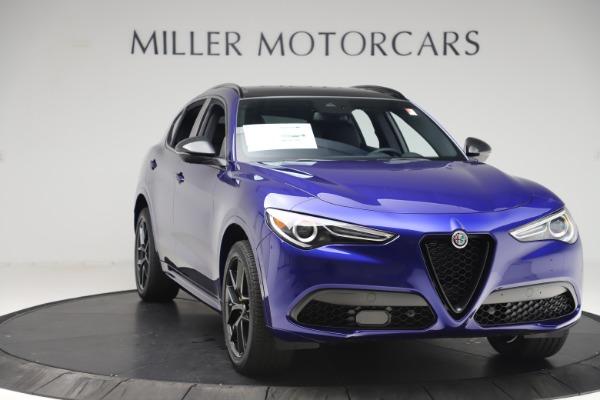 New 2020 Alfa Romeo Stelvio Ti Sport Q4 for sale $57,945 at Maserati of Westport in Westport CT 06880 11