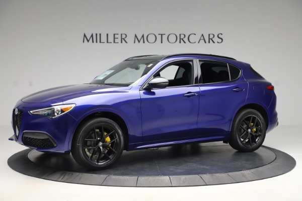 New 2020 Alfa Romeo Stelvio Ti Sport Q4 for sale $57,945 at Maserati of Westport in Westport CT 06880 2