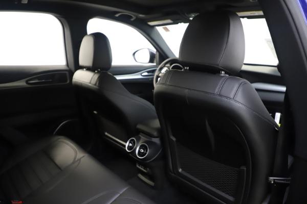 New 2020 Alfa Romeo Stelvio Ti Sport Q4 for sale $57,945 at Maserati of Westport in Westport CT 06880 28