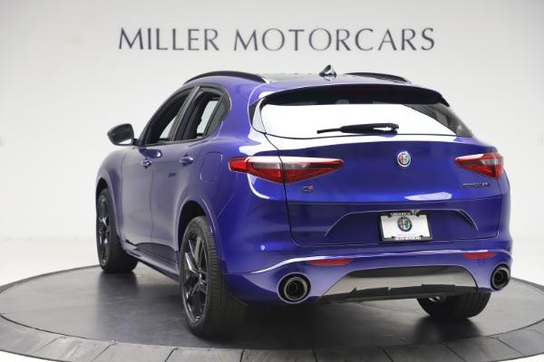 New 2020 Alfa Romeo Stelvio Ti Sport Q4 for sale $57,945 at Maserati of Westport in Westport CT 06880 5