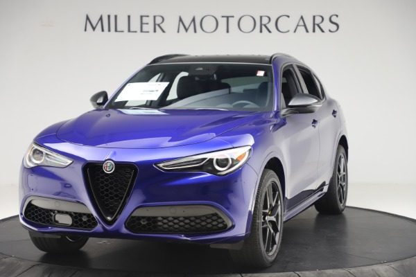 New 2020 Alfa Romeo Stelvio Ti Sport Q4 for sale $57,945 at Maserati of Westport in Westport CT 06880 1