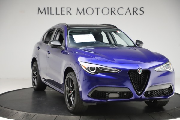 New 2020 Alfa Romeo Stelvio Ti Q4 for sale Call for price at Maserati of Westport in Westport CT 06880 11