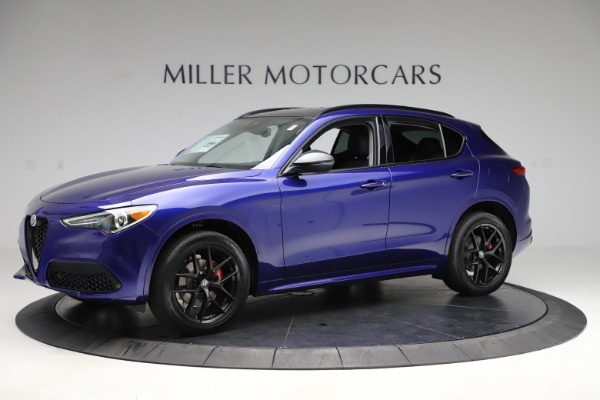 New 2020 Alfa Romeo Stelvio Ti Q4 for sale Call for price at Maserati of Westport in Westport CT 06880 2