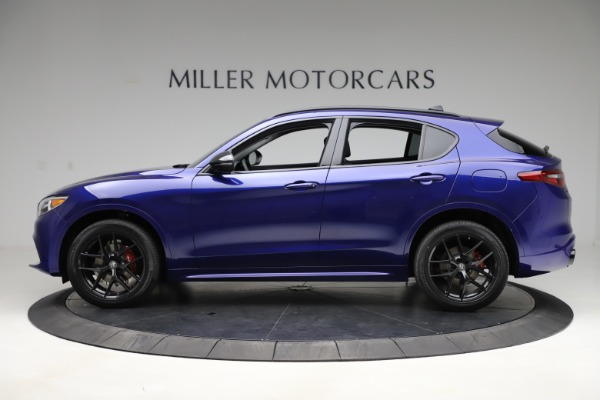 New 2020 Alfa Romeo Stelvio Ti Q4 for sale Call for price at Maserati of Westport in Westport CT 06880 3