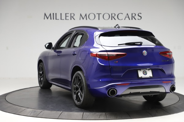 New 2020 Alfa Romeo Stelvio Ti Q4 for sale Call for price at Maserati of Westport in Westport CT 06880 5