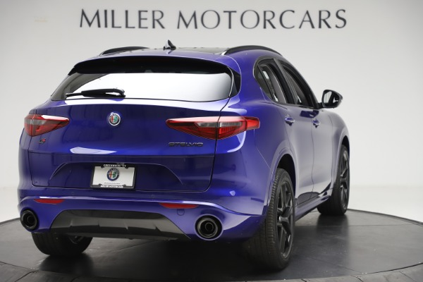 New 2020 Alfa Romeo Stelvio Ti Q4 for sale Call for price at Maserati of Westport in Westport CT 06880 7