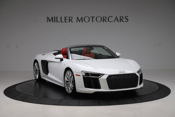 Used 2017 Audi R8 5.2 quattro V10 Spyder for sale $138,900 at Maserati of Westport in Westport CT 06880 11