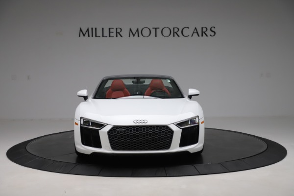 Used 2017 Audi R8 5.2 quattro V10 Spyder for sale $138,900 at Maserati of Westport in Westport CT 06880 12