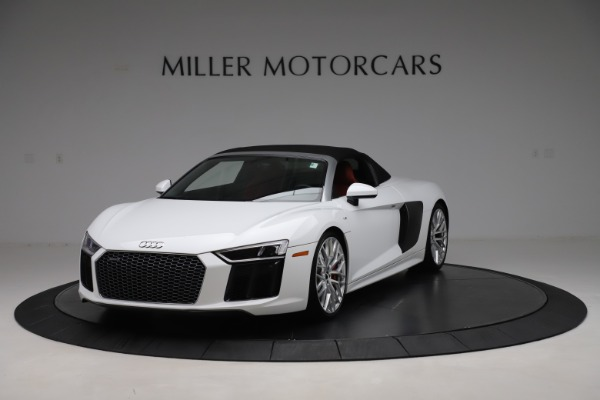 Used 2017 Audi R8 5.2 quattro V10 Spyder for sale $138,900 at Maserati of Westport in Westport CT 06880 13