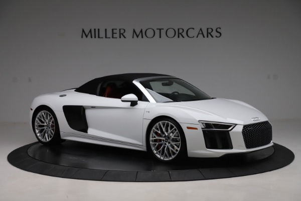 Used 2017 Audi R8 5.2 quattro V10 Spyder for sale $138,900 at Maserati of Westport in Westport CT 06880 18