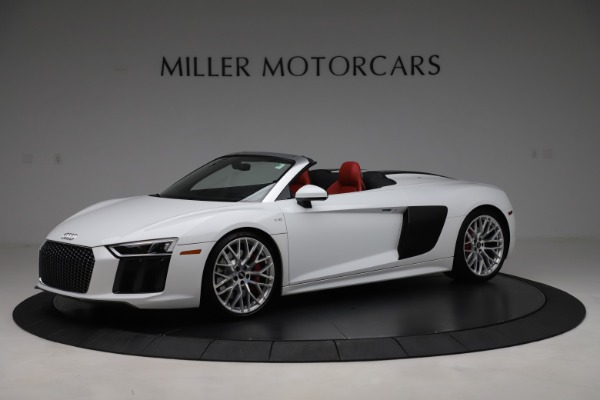 Used 2017 Audi R8 5.2 quattro V10 Spyder for sale $138,900 at Maserati of Westport in Westport CT 06880 2