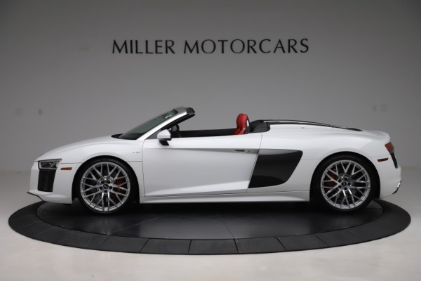 Used 2017 Audi R8 5.2 quattro V10 Spyder for sale $138,900 at Maserati of Westport in Westport CT 06880 3