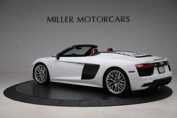 Used 2017 Audi R8 5.2 quattro V10 Spyder for sale $138,900 at Maserati of Westport in Westport CT 06880 4