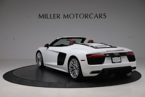 Used 2017 Audi R8 5.2 quattro V10 Spyder for sale $138,900 at Maserati of Westport in Westport CT 06880 5