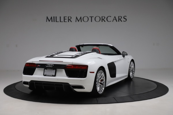 Used 2017 Audi R8 5.2 quattro V10 Spyder for sale $138,900 at Maserati of Westport in Westport CT 06880 7