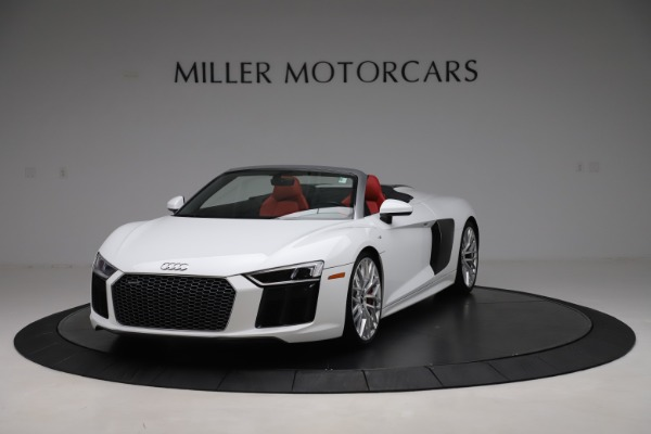 Used 2017 Audi R8 5.2 quattro V10 Spyder for sale $138,900 at Maserati of Westport in Westport CT 06880 1