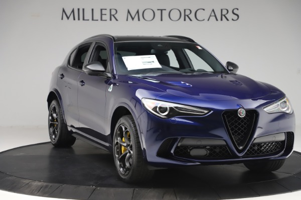 New 2020 Alfa Romeo Stelvio Quadrifoglio for sale $88,845 at Maserati of Westport in Westport CT 06880 11
