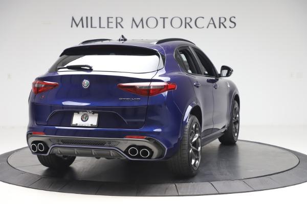 New 2020 Alfa Romeo Stelvio Quadrifoglio for sale $88,845 at Maserati of Westport in Westport CT 06880 7