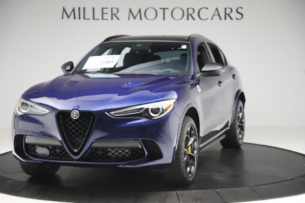 New 2020 Alfa Romeo Stelvio Quadrifoglio for sale $88,845 at Maserati of Westport in Westport CT 06880 1