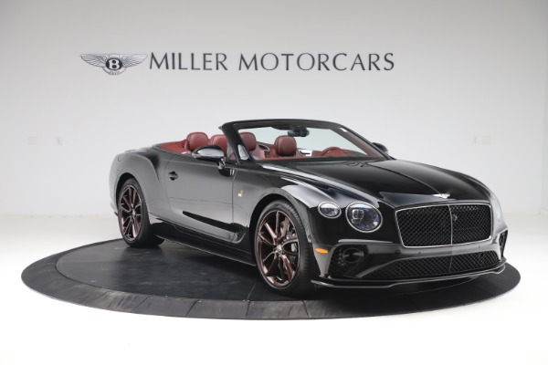 New 2020 Bentley Continental GTC Number 1 Edition for sale $331,585 at Maserati of Westport in Westport CT 06880 11