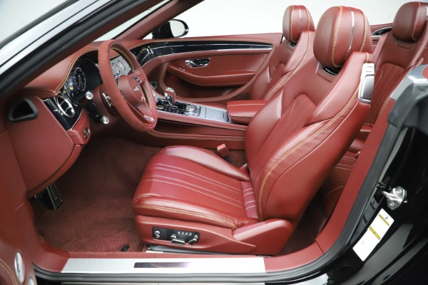 New 2020 Bentley Continental GTC Number 1 Edition for sale $331,585 at Maserati of Westport in Westport CT 06880 27
