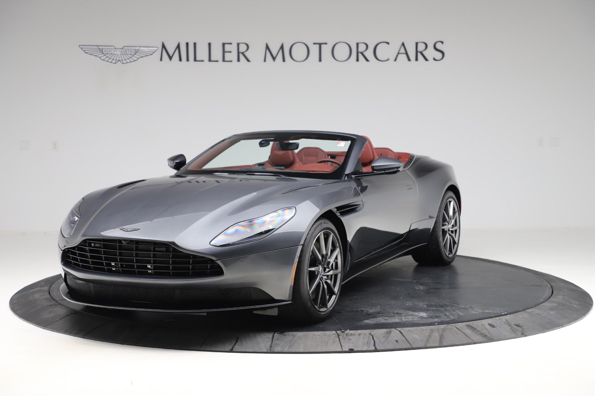 New 2020 Aston Martin DB11 Volante Convertible for sale $263,681 at Maserati of Westport in Westport CT 06880 1