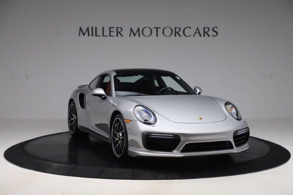 Used 2017 Porsche 911 Turbo S for sale $154,900 at Maserati of Westport in Westport CT 06880 11