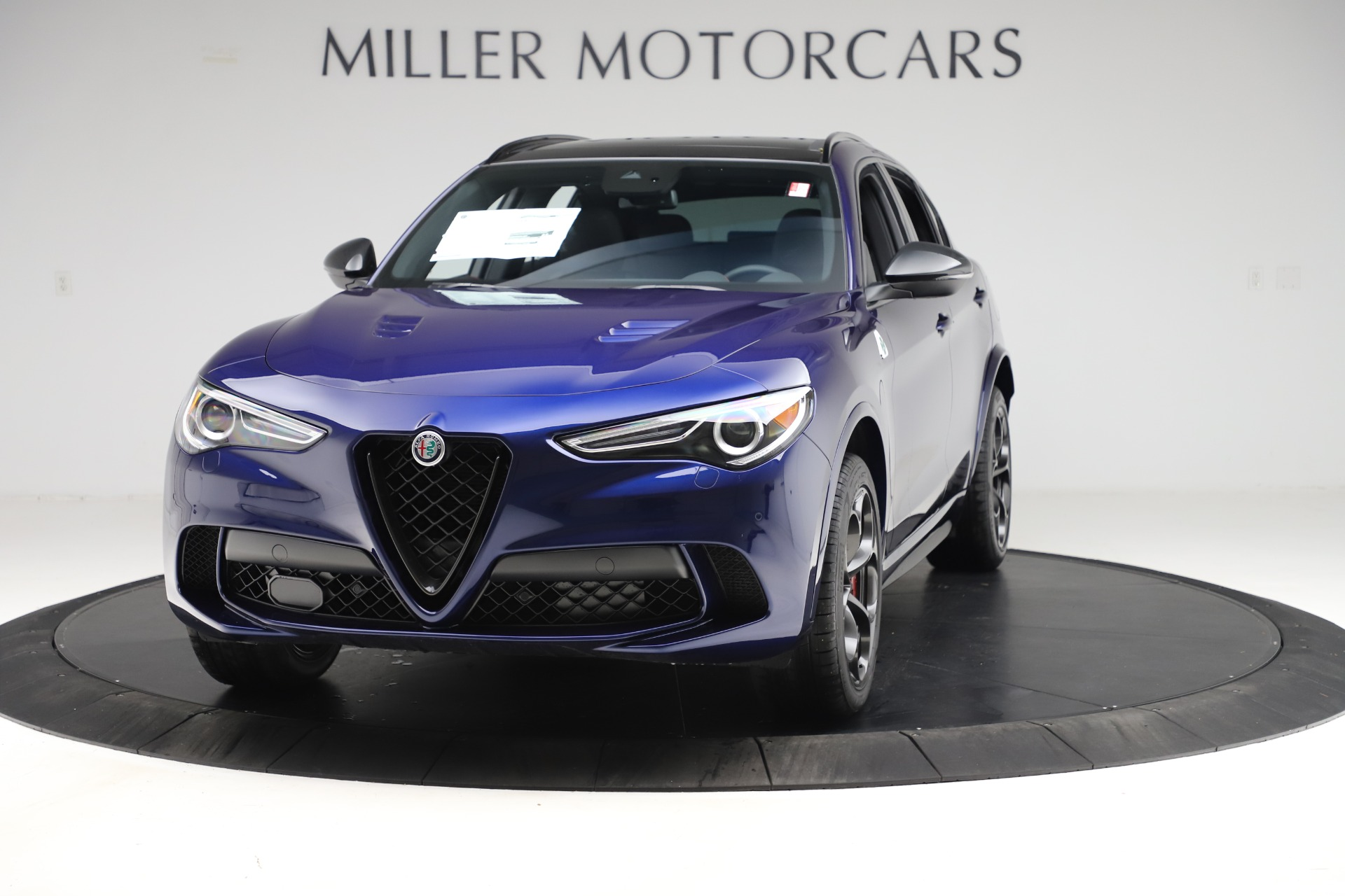 New 2020 Alfa Romeo Stelvio Quadrifoglio for sale $88,390 at Maserati of Westport in Westport CT 06880 1