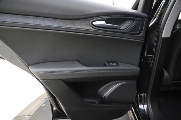 New 2020 Alfa Romeo Stelvio Sport Q4 for sale $49,695 at Maserati of Westport in Westport CT 06880 21