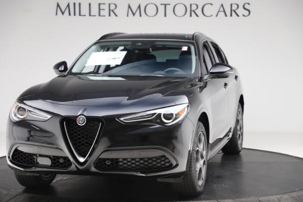 New 2020 Alfa Romeo Stelvio Sport Q4 for sale $49,695 at Maserati of Westport in Westport CT 06880 1