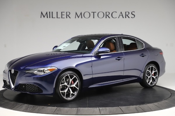 New 2020 Alfa Romeo Giulia Ti Q4 for sale $51,145 at Maserati of Westport in Westport CT 06880 2