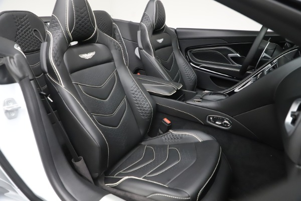 New 2020 Aston Martin DBS Superleggera Volante Convertible for sale $353,931 at Maserati of Westport in Westport CT 06880 19