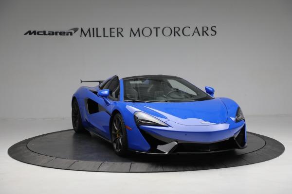 New 2020 McLaren 570S Spider Convertible for sale $236,270 at Maserati of Westport in Westport CT 06880 11