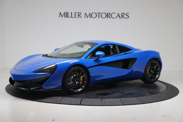 New 2020 McLaren 570S Spider Convertible for sale $236,270 at Maserati of Westport in Westport CT 06880 15