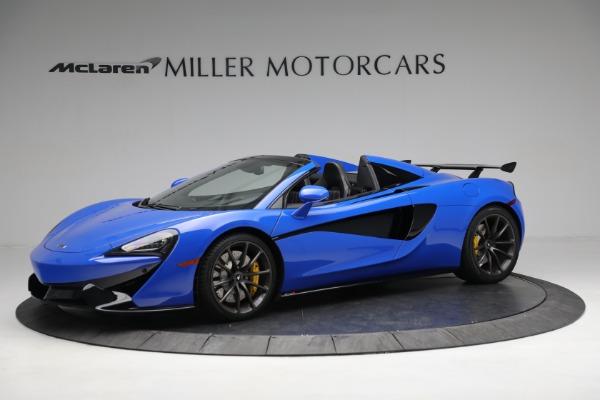 New 2020 McLaren 570S Spider Convertible for sale $236,270 at Maserati of Westport in Westport CT 06880 2