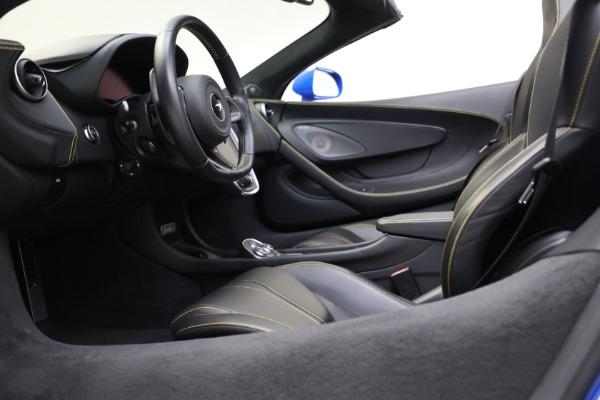 New 2020 McLaren 570S Spider Convertible for sale $236,270 at Maserati of Westport in Westport CT 06880 26