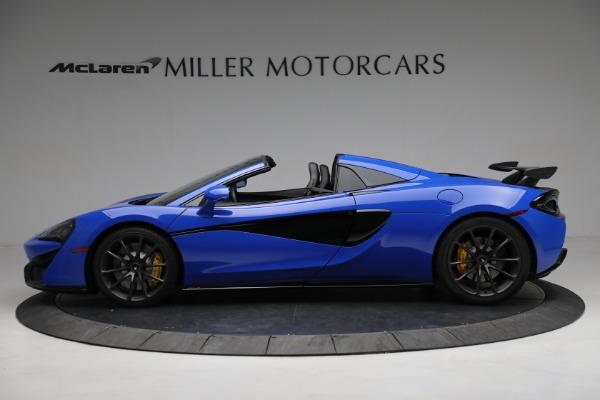 New 2020 McLaren 570S Spider Convertible for sale $236,270 at Maserati of Westport in Westport CT 06880 3