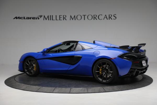 New 2020 McLaren 570S Spider Convertible for sale $236,270 at Maserati of Westport in Westport CT 06880 4