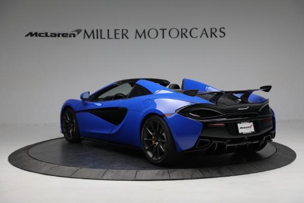 New 2020 McLaren 570S Spider Convertible for sale $236,270 at Maserati of Westport in Westport CT 06880 5
