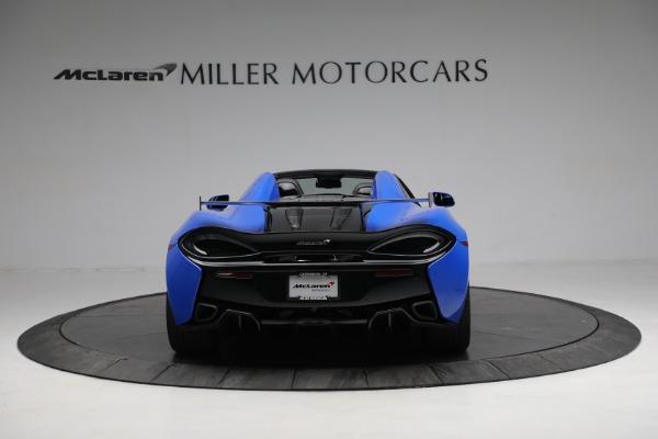 New 2020 McLaren 570S Spider Convertible for sale $236,270 at Maserati of Westport in Westport CT 06880 6