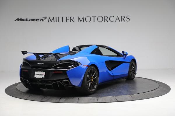 New 2020 McLaren 570S Spider Convertible for sale $236,270 at Maserati of Westport in Westport CT 06880 7