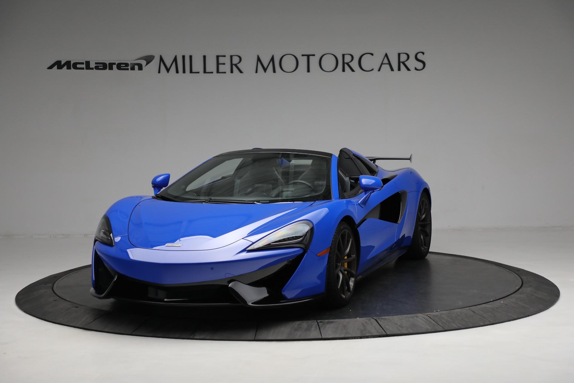 New 2020 McLaren 570S Spider Convertible for sale $236,270 at Maserati of Westport in Westport CT 06880 1